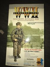 1/6 Scale NIB WWII German Herman Totenkopf NCO - Dragon