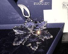 Swarovski Crystal 2014 Annual Christmas LARGE Snowflake Star Ornament