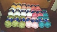 Herrschners 2 Ply 2 Fine Sport Acrylic Yarn 20 skeins   Mixed Colors