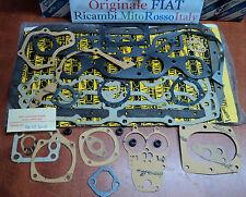 Serie guarnizioni motore ORIGINALI FIAT 125 Special engine gaskets 1900261