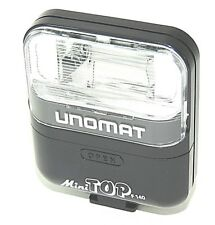 UNOMAT Mini Top F140 Aufsteckblitz Blitzgerät Universal Elektronenblitzgerät