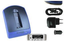 Baterìa+Cargador USB NB-9L para Canon IXUS 1100 HS, PowerShot ELPH 510 HS