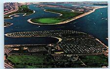 *Aerial View De Anza Trailer Harbor 27272 De Anza Rd San Diego CA Postcard A21