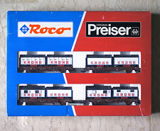 ROCO 44008 HO H0 Wagenset Circus Krone Freight Car Set , USED