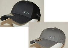 Oakley New Era 39Thirty Tinfoil Hat / Cap L/XL or S/M Grey/Black or Light Grey