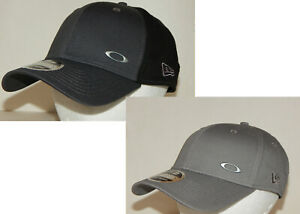 Oakley New Era 39Thirty Tinfoil Hat / Cap S/M  Light Grey or L/XL Grey / Black