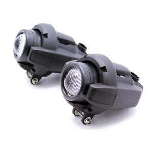 Foglight Safety Fog Lamp DC 12V For BMW K1600 R1200GS Adventure Black 1 Pair