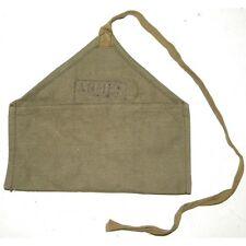 Trousse vide pour le nécessaire à couture de l'armée française, en toile kaki