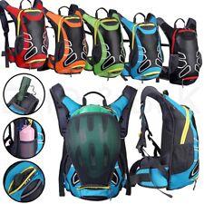 Легкий рюкзак с шлем для хранения воды мочевой пузырь мужчин и женский путешествия на открытом воздухе