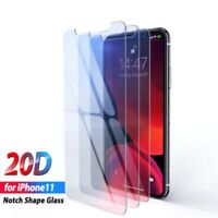 For Apple iPhone 11 Pro Max Tempered Glass 9H Cover Film 20D Screen Protector aa