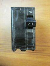Square D Circuit Breaker (Black Face) 2 Pole, 30 Amp, Cat# Qob230 . Vs-71