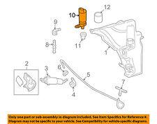 AUDI OEM 06-16 A6 Quattro Headlight Head light lamp Washer/wiper-Pump 3B7955681