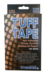 STORMSURE TUFF TAPE 1m Long x 75mm Wide  -  Camping / Awning / Tent Repair Tape