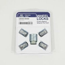 New Genuine Hyundai U8440-00500 Wheel Lock Set Elantra Sonata Azera Veloster