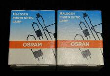 Lot Of 2 Osram Halogen Projector Bulbs 250w 82v Photo Optic Lamp Bulb Exy J958
