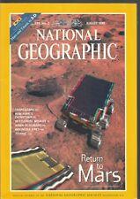 National Geographic August 1998 Mars/Orangutans/New York Chinatown/Titanic/Whale