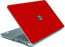 RED Vinyl Lid Skin Cover Decal fits Dell Inspiron 15 7537 Laptop