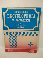 New ListingComplete Encyclopedia of Scales 1973 Don Schaeffer/Charles Colin Publications