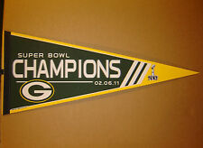 Green Bay Packers Super Bowl 45 Champions NFL Football Pennant