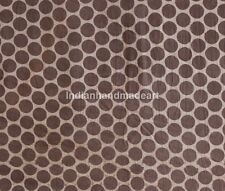 5 Yard Indian Hand Block Print 100% Cotton Soft Fabric Mud Resist Dabu Print 68