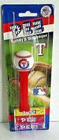 MLB Pez Dispenser TEXAS RANGERS [Carded]