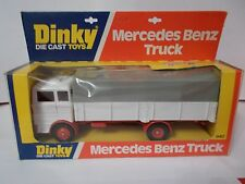 dinky 940 mercedes benz truck boxed vintage 1977
