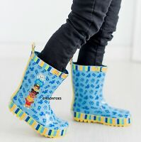 CHILDRENS WATERPROOF RAIN WELLIES KIDS GIRLS BOYS WELLINGTONS SHOES BOOTS SIZE