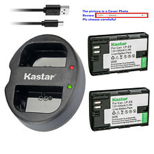 Kastar Battery Oval USB Charger for Canon LP-E6NH & Canon EOS R5, EOS R6 Camera