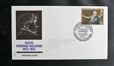 TIMBRES D'ANGLETERRE : RALPH VAUGHAN WILLIAMS CHEF D'ORCHESTRE CENTENAIRE - 1972