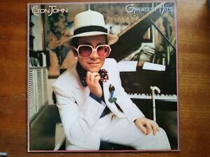 ELTON JOHN'S GREATEST HITS Original 1974 Vinyl LP- Post Free