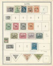 Fiume Collection 1918-1924 on Minkus Global Pages, 4 Pages