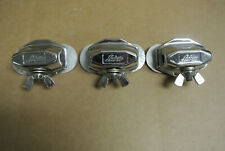 SET of (3) 1970's LUDWIG CLASSIC BRACKETS for FLOOR TOM LEG + DRUM SET! LOT #P20
