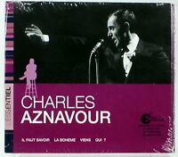 Charles Aznavour - L'Essentiel Charles Aznavour (CD) new