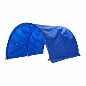 IKEA KURA Baldachin, Sternenhimmel, blau, Betthimmel