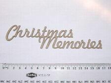 CHIPBOARD -CHRISTMAS MEMORIES - CRAFTY ORIGINALS