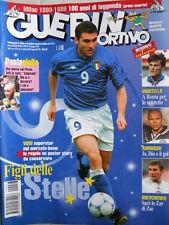Guerin Sportivo n°23 1999 con maxi poster Christian Vieri  [GS.52]
