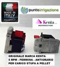 Motoriduttore stufa pellets 5 RPM (carico pellet) KENTA K911 7159 antiorario
