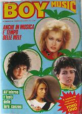 BOY MUSIC 8 1983 Tiziana Rivale Captain Sensible Rettore Yoko Ono Steve Strange
