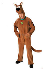 Official Mens Scooby Doo 1970s 70s 1980s 80s Fancy Dress Costume NEW M-L