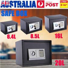 Electronic Safe Digital Security Box Home Office Cash Deposit Password 6.5-20L