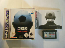 Premier Manager 2004-2005 - Nintendo Game Boy Advance - Complet - Occasion - PAL