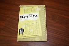 1956 RADIO SHACK CATALOG ! - RARE 200+ PAGES OF VINTAGE HI-FI, TEST EQUIP MORE!