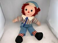 """Vintage Preowned Raggedy Andy Doll Knickerbocker 15"""" Inches Long Original"""