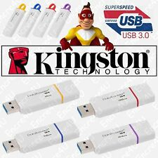 Clé USB KINGSTON 8 16 32 64 Go Gb - Série DataTraveler G4 ( certifiée USB 3.0 )