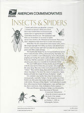 # 3351 INSECTS & SPIDERS  1999 Commemorative Panel