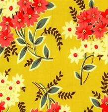 Denyse Schmidt Home Decorator County Fair Fabric Daisy Bouquet in Pear HDDS02