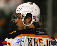 David Krejci Boston Bruins Signed Autographed Upclose 8x10