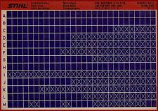 Stihl pièce de rechange listes _ moteur sciage _ microfich _ fich _ 3/89_e_lsg_hos_usg_fg_ng_084