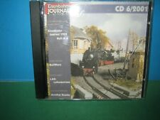 EISENBAHN JOURNAL ~ CD-ROM    6 / 2001 ONLY ~ GERMAN TEXT > VGC SEE PIC'S