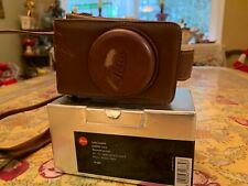 Leica Brown Leather Case For D-Lux 4 and D-Lux 5  Cat 18689